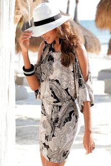Urban Kimono Sleeve Dress - 253405