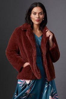 Sara Faux Fur Jacket - 253416