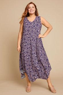 Sara Swing Drape Dress - 253422
