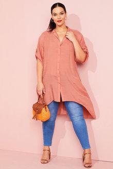 Sara Longline Shirt - 253424