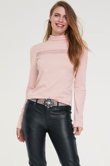 Heine Pullover with Lace - 253433