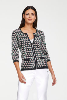 Heine Cardigan with Zipper - 253437