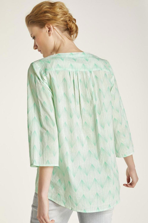 Heine Lace Up Top