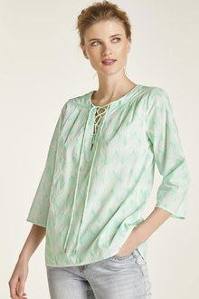 Heine Lace Up Top - 253438