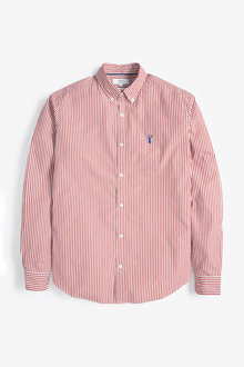 Next Stripe Stag Shirt - 253450