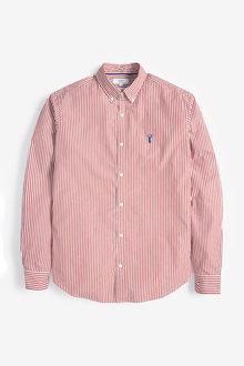 Next Stripe Stag Shirt - 253450