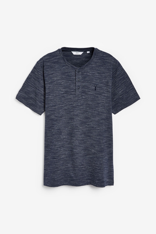 Next Slim Fit Grandad T-Shirt