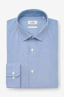 Next Regular Fit Stripe Shirt - 253464