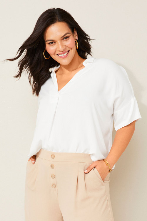 Sara Hi - Low Shirt