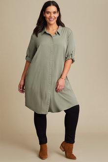 Sara Longline Shirt - 253837