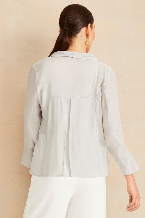 Grace Hill Textured Drape Jacket