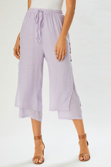 Grace Hill Textured Bottom Layered Pant - 253849