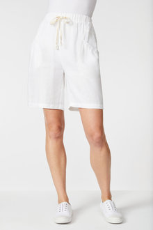 Capture Linen Drawstring Short - 253867