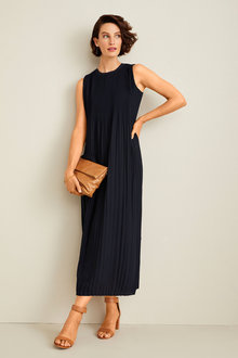 Grace Hill Pleated Dress - 253875
