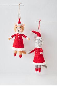 Santas Cats Hanging Decoration - 253889