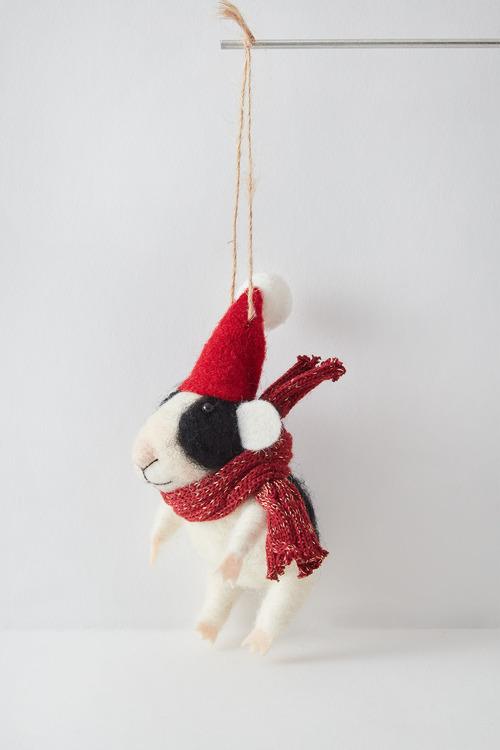 Santas Mice Hanging Decoration