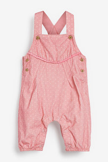 Next Spot Cord Dungarees And Bodysuit (0mths-2yrs) - 253947