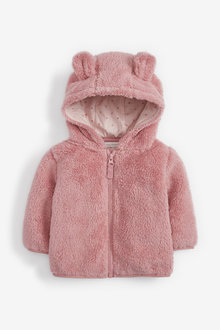 Next Fleece Hooded Jacket (0mths-2yrs) - 253950