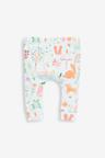 Next 3 Pack Character/Stripe/Spot Leggings (0mths-2yrs)