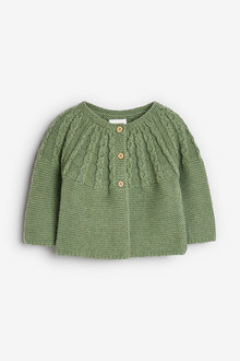 Next Cable Detailed Cardigan (0mths-2yrs) - 253963