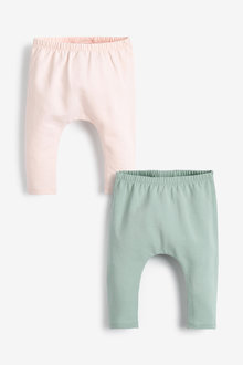 Next 2 Pack Ruffle Leggings (0mths-3yrs) - 253979