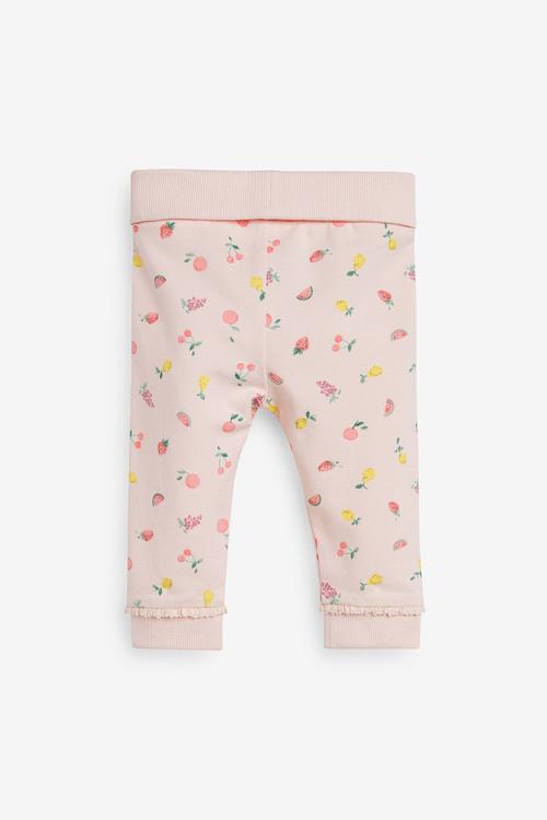 Next 3 Pack Fruit Print Leggings (0mths-3yrs)