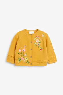Next Embroidered Cardigan (0mths-2yrs) - 254010