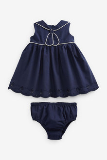 Next Sailor Collar Dress (0mths-2yrs) - 254016