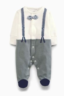 Next Smart Dress Up Sleepsuit (0mths-2yrs) - 254029