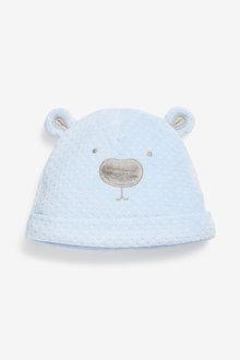 Next Bear Velour Hat (0-18mths) - 254062