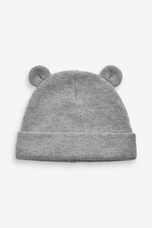 Next Bear Rib Hat (0mths-2yrs) - 254089