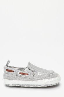Next Pram Slip-On Boat Shoes (0-24mths) - 254120