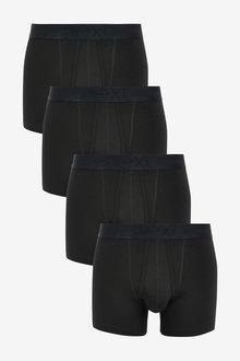 Next Signature Supima Cotton A-Fronts Four Pack - 254138