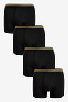 Next Gold Pattern Waistband A-Fronts Four Pack