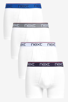 Next Tipped Waistband A-Fronts Four Pack - 254158