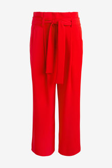 Next Twill Belted Culottes - 254175