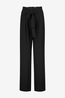Next Twill Belted Wide Trousers - 254176