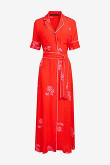 Next Emma Willis Printed Shirt Dress - 254245