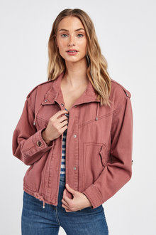 Next Crop Utility Jacket - 254387