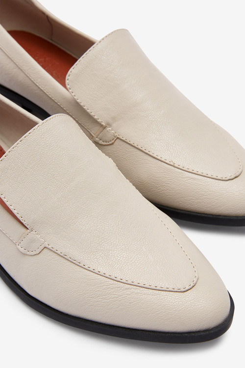Next Almond Toe Loafers