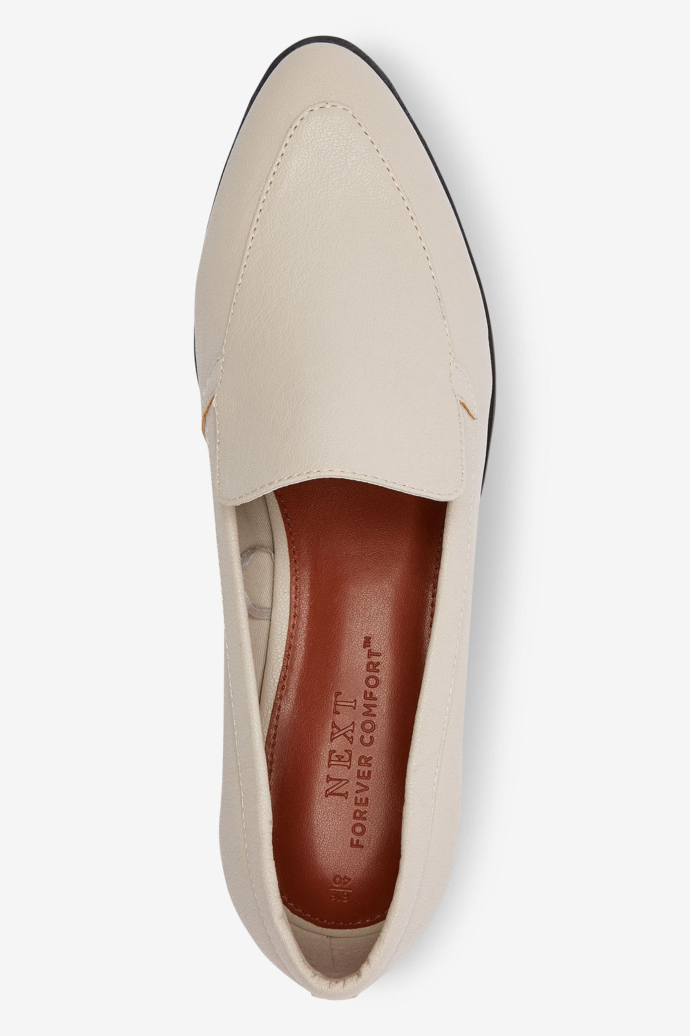 Next Almond Toe Loafers-Wide Fit Online