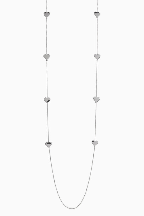 Next Tiny Heart Long Rope Necklace