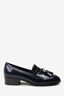 Next Square Toe Cleat Loafers-Wide Fit - 254459