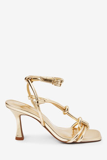 Next Knotted Tube High Sandals - 254496