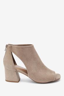 Next Low Cut Out Shoe Boots - 254526