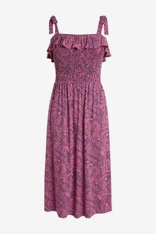 Next Shirred Sun Dress-Tall - 254562