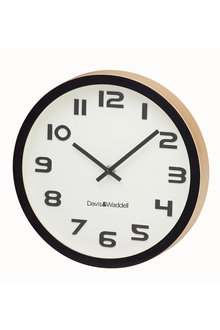 Davis & Waddell Logan Wall Clock - 254564