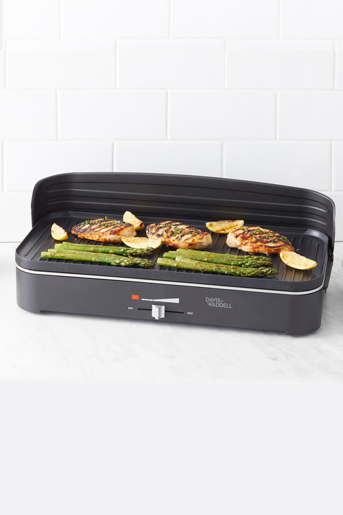 Davis & Waddell Two-in-One Electric BBQ and Indoor Grill