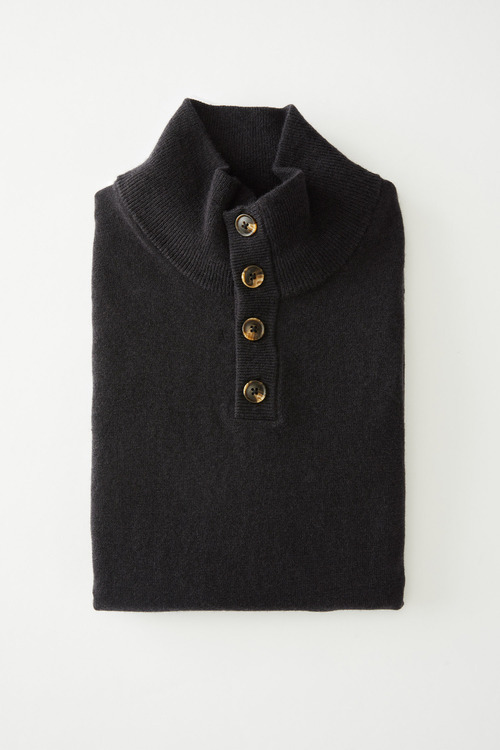 Southcape Lambswool Button Sweater