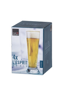 L'Esprit Beer Glasses Set of Four - 254581